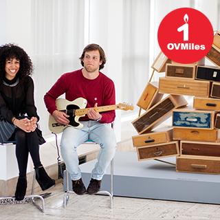 Art rocks muziek bij Droog design in het Boijmans Van Beuningen